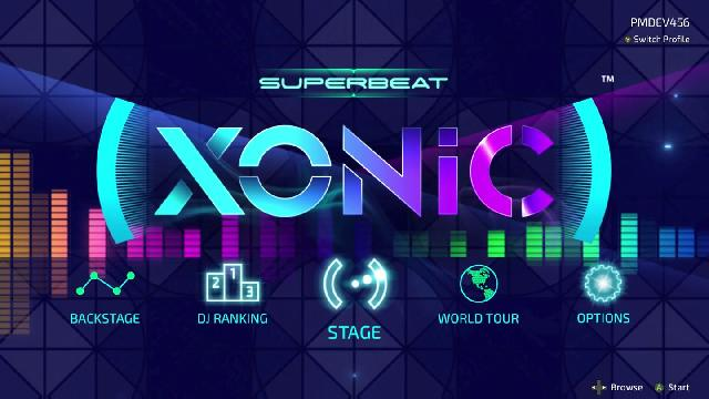 Superbeat: Xonic Screenshots, Wallpaper
