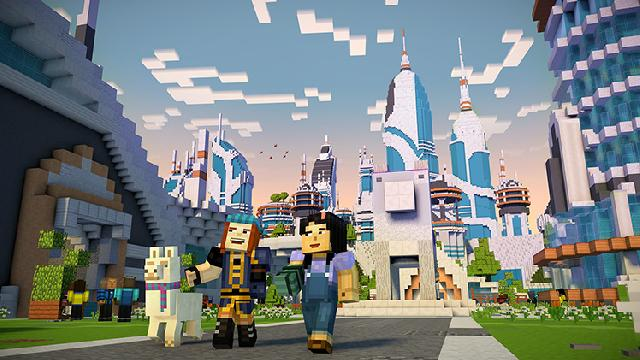 Minecraft: Story Mode Season Two screenshot 11372