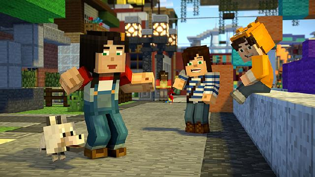 Minecraft: Story Mode Season Two screenshot 11375