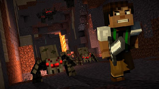 Minecraft: Story Mode Season Two screenshot 11376