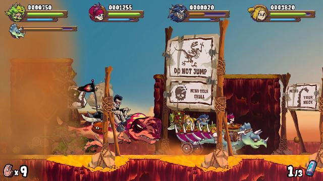 Caveman Warriors screenshot 12125