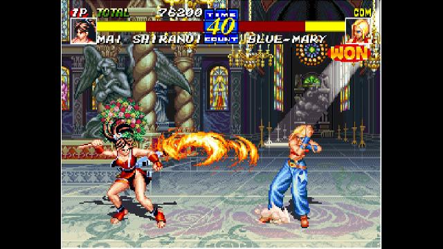 ACA NEOGEO: Fatal Fury 3 screenshot 12384