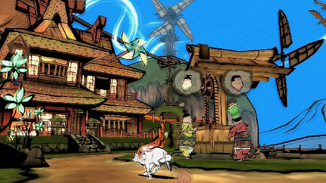 Okami HD Screenshots, Wallpaper