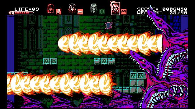 Bloodstained: Curse of the Moon screenshot 15098