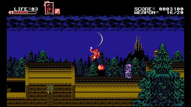 Bloodstained: Curse of the Moon screenshot 15107