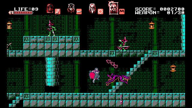 Bloodstained: Curse of the Moon screenshot 15103