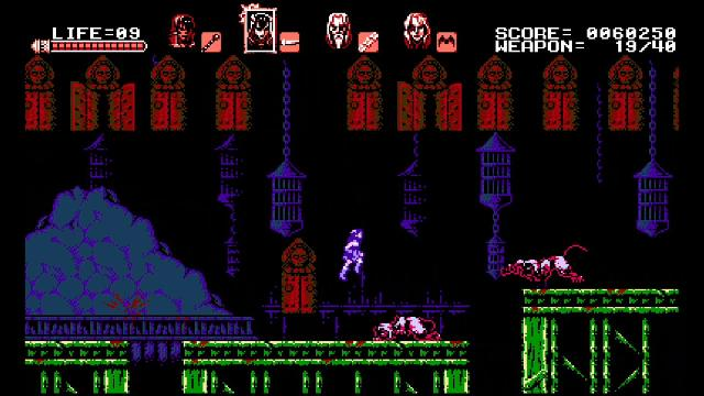 Bloodstained: Curse of the Moon screenshot 15100