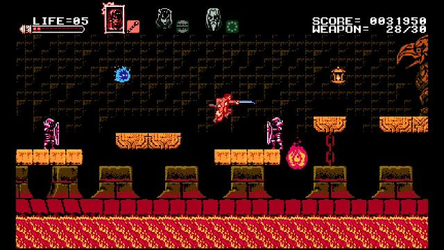 Bloodstained: Curse of the Moon screenshot 15104