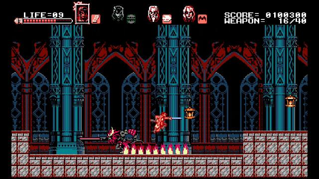 Bloodstained: Curse of the Moon screenshot 15105