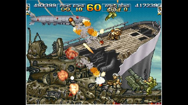 ACA NEOGEO: Metal Slug 4 screenshot 16213