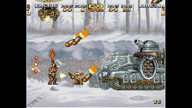 ACA NEOGEO: Metal Slug 4 screenshot 16214