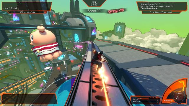 Hover: Revolt of Gamers Screenshots, Wallpaper