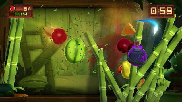 Fruit Ninja Kinect 2 Screenshots, Wallpaper