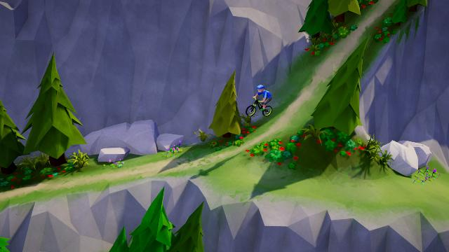 Lonely Mountains: Downhill Screenshots, Wallpaper