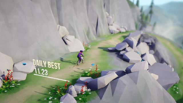 Lonely Mountains: Downhill screenshot 22981
