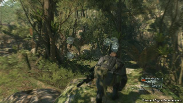 Metal Gear Solid V: The Phantom Pain screenshot 3000