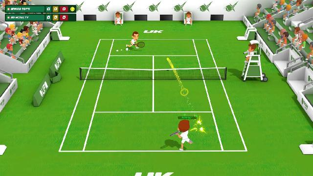 Super Tennis Blast screenshot 20391