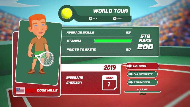 Super Tennis Blast screenshot 20396