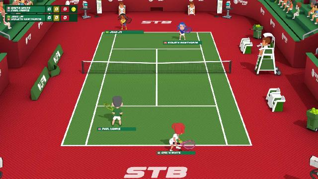 Super Tennis Blast screenshot 20398
