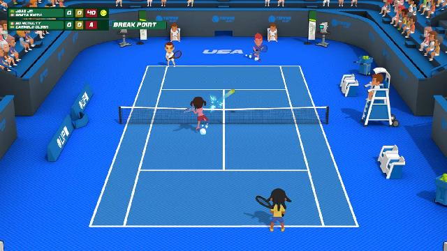 Super Tennis Blast screenshot 20393