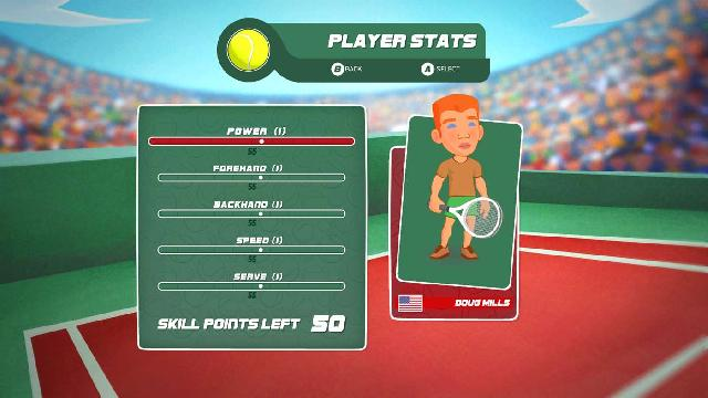 Super Tennis Blast screenshot 20394