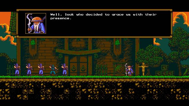 The Messenger Screenshots, Wallpaper