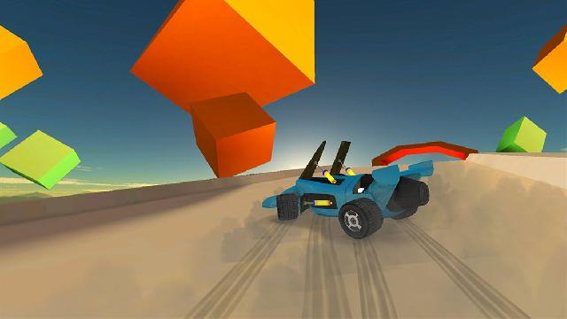 Jet Car Stunts Screenshots, Wallpaper