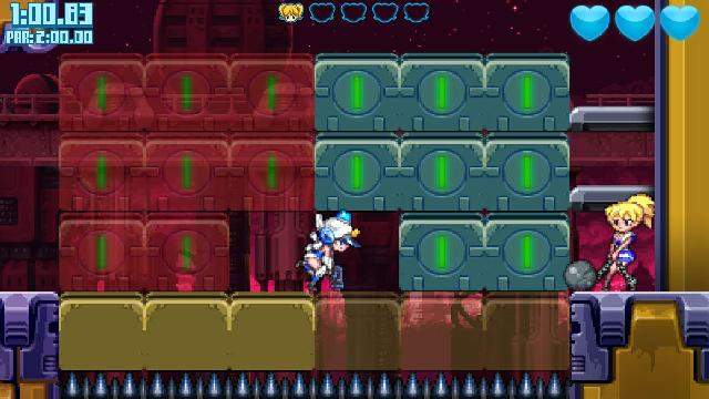 Mighty Switch Force! Collection screenshot 21383