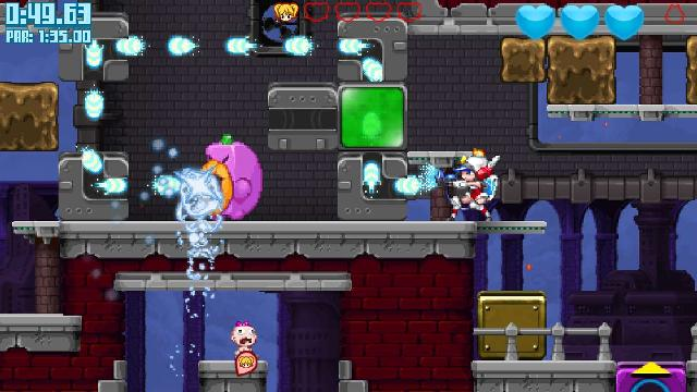 Mighty Switch Force! Collection screenshot 21385