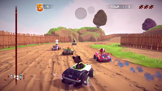 Garfield Kart: Furious Racing Screenshots, Wallpaper