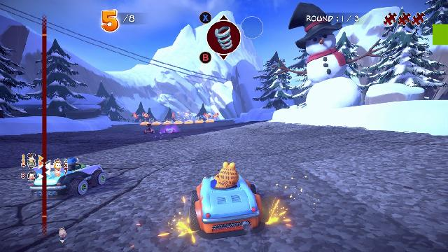 Garfield Kart: Furious Racing screenshot 23374