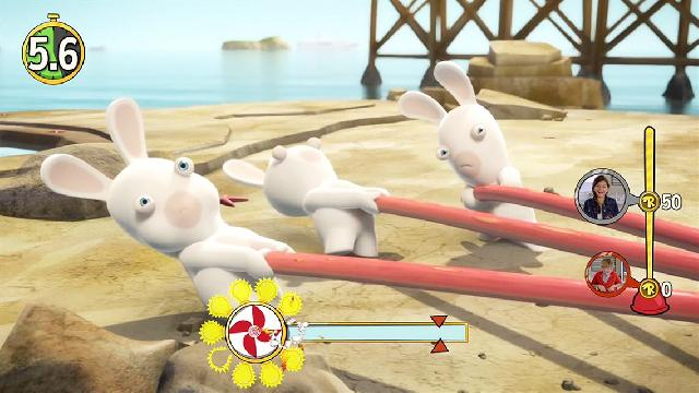 Rabbids Invasion: The Interactive TV Show Screenshots, Wallpaper