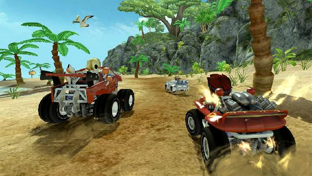 Beach Buggy Racing Screenshots, Wallpaper
