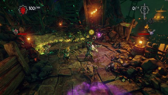 Hand of Fate 2 - Outlanders and Outsiders screenshot 27244