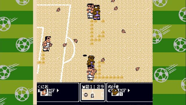 Kunio-kun's Nekketsu Soccer League screenshot 27430