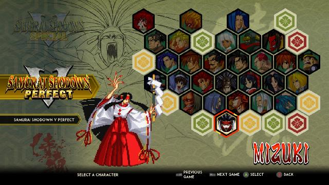 Samurai Shodown NeoGeo Collection screenshot 28958