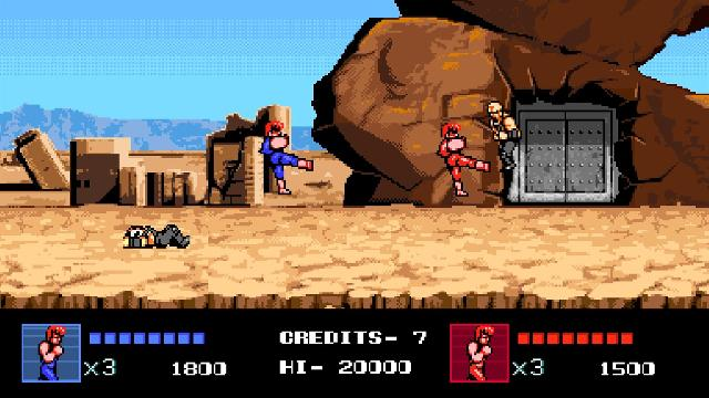 Double Dragon 4 screenshot 28420