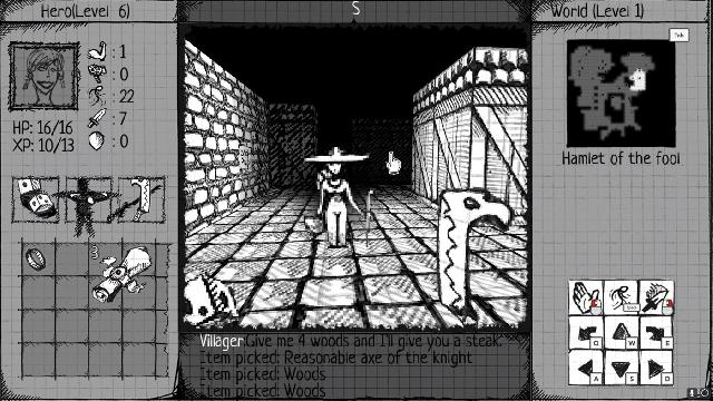 Drawngeon: Dungeons of Ink and Paper screenshot 31839