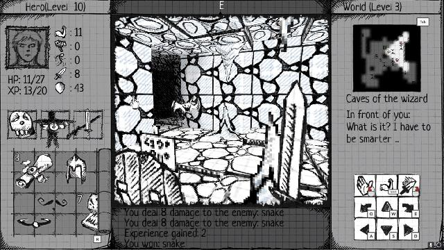 Drawngeon: Dungeons of Ink and Paper screenshot 31840