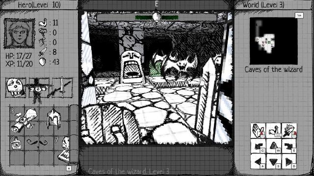 Drawngeon: Dungeons of Ink and Paper screenshot 31845