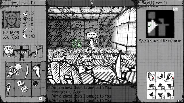 Drawngeon: Dungeons of Ink and Paper screenshot 31842