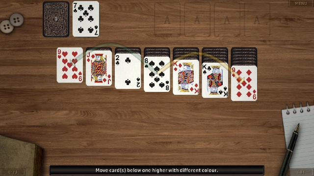 Solitaire 3D screenshot 32417