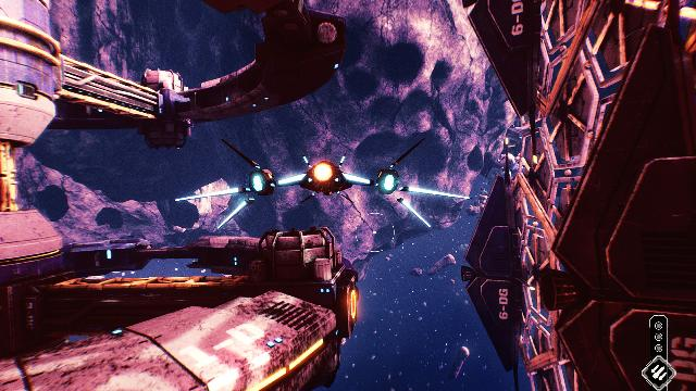 Redout Space Assault Screenshots, Wallpaper