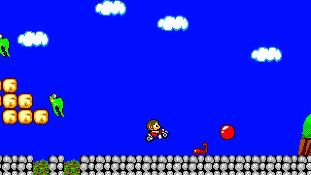Alex Kidd in Miracle World DX screenshot 32904