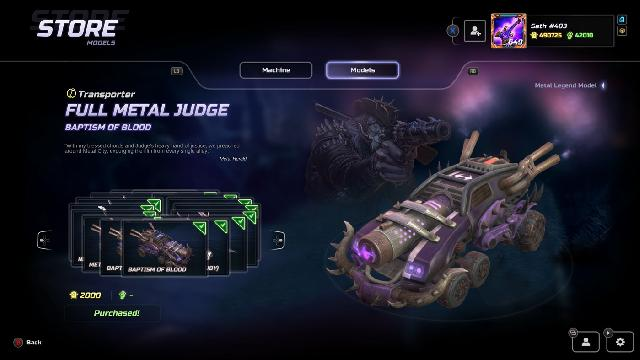 Heavy Metal Machines screenshot 33842