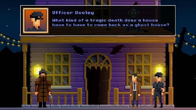 The Darkside Detective: Fumble in the Dark screenshot 34601