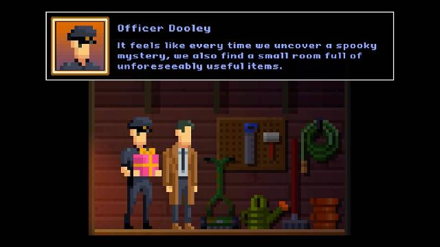 The Darkside Detective: Fumble in the Dark screenshot 34598