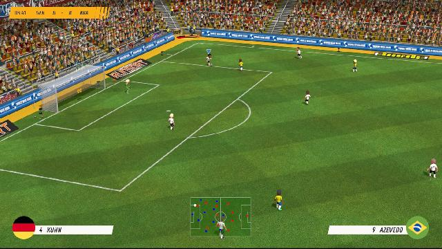 Super Soccer Blast: America vs Europe screenshot 35253