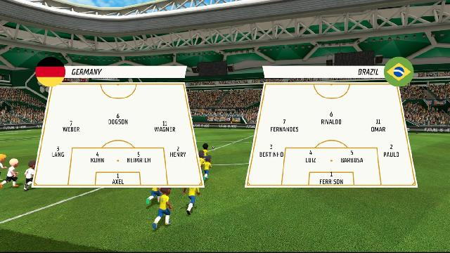 Super Soccer Blast: America vs Europe screenshot 35251