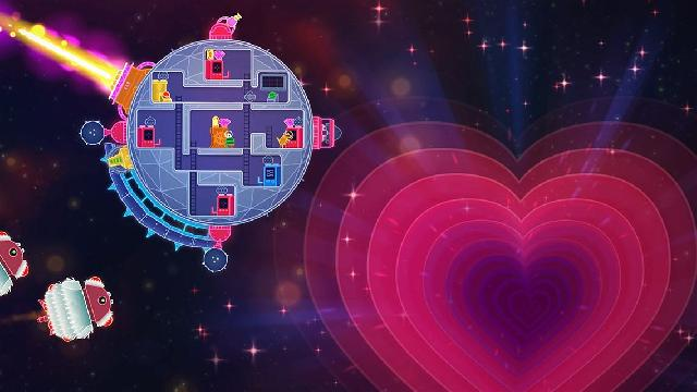 Lovers in a Dangerous Spacetime screenshot 4473